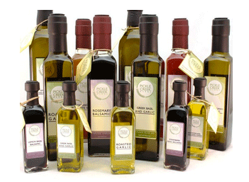 Pickle Creek oils and vinegars