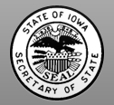 Image Seal for Iowa Secretary of State